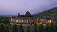 Amanjiwo in Central Java, Indonesia Dubai, Desert Resort, Borobudur, Mountain Resort, Luxury Holidays, Island Resort, World Heritage Sites, Wonderful Places, Places To See