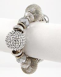 Mesh Ball Bracelet