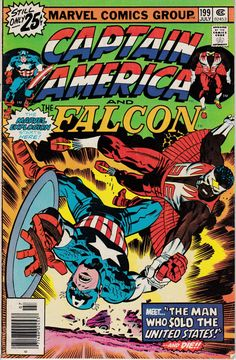 Captain America 199 July 1976 Issue  Marvel Comics  by ViewObscura