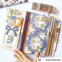 Featuring @thefloralstories pretty hand and her Websters Pages Color Crush Travelers Notebook in Walnut Available at www.saffytenten.com! #travelersnotebookph #websterspages #colorcrush #websterspagesph #plannerph #scrapbookph #craftstoreph #stationeryph #saffytenten