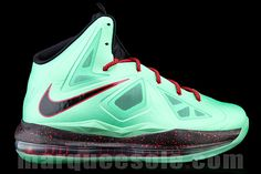 online retailer 3eebb e75c8 Nike Lebron 10 (Cutting Jade)  sneakers Nike Motivation, Nike High Tops,