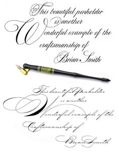 Copperplate on TOP, Spencerian on BOTTOM. Difficulty of Learning Spencerian vs. Copperplate