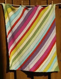 Ravelry: Fruit Stripe Blanket pattern by A.Opie Designs