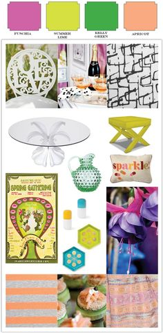 Top 5 Tips for your Summer Garden Party. Inspiration to Celebration: Colorful Summer Garden Party by Alchemy Fine Events