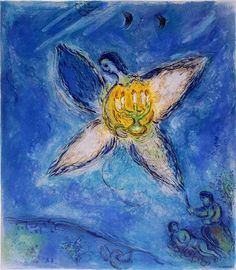 Angel with Candlestick - Chagall