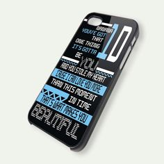 One Direction Nanana Blue iPhone 5 Case, iPhone 4 Case, iPhone 4s Case, iPhone 4 Cover, Hard iPhone 4 Case ipc40. $14.99, via Etsy.  I need this. Really cute