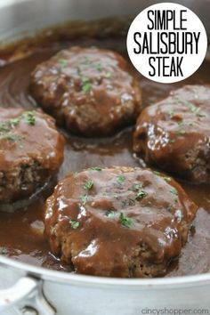 Simple Salisbury Steak 1