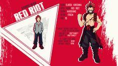 Boku no Hero Star: Wallpaper Eijirou Kirishima