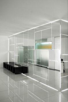 light mirror fragment illusion