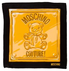 MOSCHINO Teddy Bear Moschino Couture Crepe Silk Scarf. Get the lowest price on MOSCHINO Teddy Bear Moschino Couture Crepe Silk Scarf and other fabulous designer clothing and accessories! Shop Tradesy now