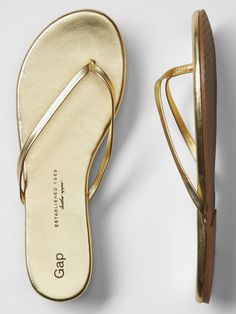 0237b80f96b0c7 These flip flops would look great with everything! Leather Flip