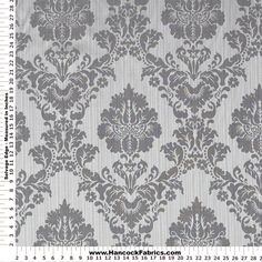 Shop Strea Damask Grey Home Décor Fabric, and more of our Mediumweight Multi Purpose Fabric Prints. Shop our huge selection of thread and fabric, enjoy savings with sales and coupons!