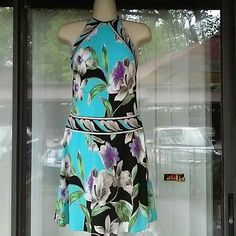 CACHE gorgeous dress.price firm Worn once,with bra build in Cache Dresses Mini