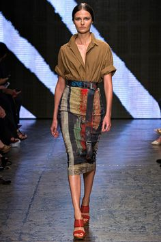 Donna Karan spring 2015 collection