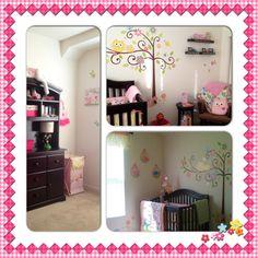 My baby girl's room- Dena Happi Tree owl theme
