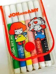 JON&AMYカラーサインペン