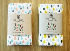 Creative Packaging, Ffffound, Rain, Pink, and 15 image ideas & inspiration on Designspiration Scarf Packaging, Tea Packaging, Pretty Packaging, Brand Packaging, Packaging Design, Packaging Ideas, Simple Packaging, Packaging Carton, Textiles