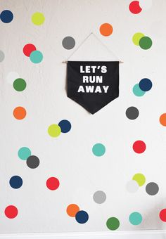 Very Boy  Confetti Dots Wall Decal by TheLovelyWall on Etsy