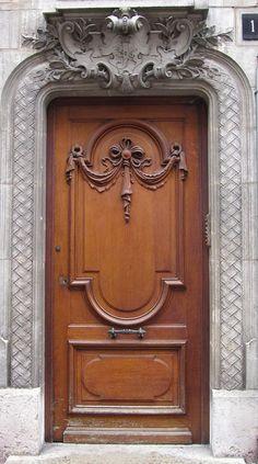 From a time when the portal lead to a magical interior. Front Door Entryway, Entrance Doors, Doorway, Front Doors, Pooja Room Door Design, Door Gate Design, Cool Doors, Unique Doors, Make A Door