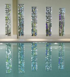 The beautiful stained glass windows in Rockliffe Hall's Spa.a stunning location to enjoy a relaxing spa day. Education And Development, Window Detail, Luxury Spa, Stained Glass Windows, Spa Day, Resort Spa, Glass Vase, Beautiful, Stained Glass Panels