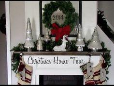 Christmas Home Tour 2014 • 25 Days of Christmas