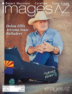 #ImagesAZ May 2014 Desert Mountain/Carefree/CaveCreek Cover #DolanEllis #Arizonaballadeer #Arizonahistory