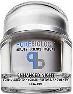 Pure Biology Anti Aging Night Cream w/Pure Retinol, Hyaluronic Acid & Breakthrough Anti Wrinkle Technology - Moisturizer For Face & Neck oz). by Pure Biology Best Night Cream, Anti Aging Night Cream, Best Anti Aging, Anti Aging Skin Care, Anti Aging Moisturizer, Homemade Moisturizer, Prevent Wrinkles, Skin Firming, Firming Cream