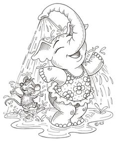 Elephant Coloring Pages Free Printable. Elephants are the largest mammals on earth. The most obvious thing that distinguishes it from other animals is its wide ears, incisors that grow outwa. Pokemon Coloring Pages, Cute Coloring Pages, Disney Coloring Pages, Animal Coloring Pages, Free Coloring, Coloring Pages For Kids, Coloring Books, Free Printable Coloring Pages, Coloring Sheets
