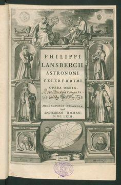 7 - - Page view - ETH-Bibliothek Zürich (NEBIS) - e-rara1663 - Philippi Lansbergii ... opera omnia   Author, Contributor Lansberg, Philipp van < Arzt, Belgien  - e-rara
