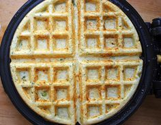cheesy savory waffles or pancakes
