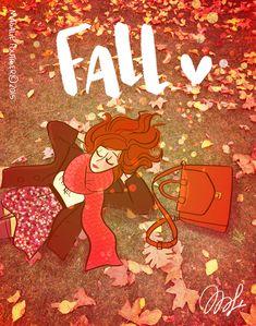 """Les chroniques illustrées de Magalie Foutrier - """"Fall"""""""