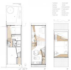 Interesting Townhouse Plan