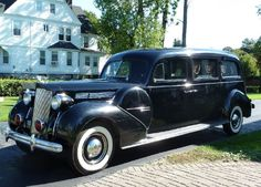 1939 Packard Henney Hearse