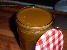 Ingrédients:  160 g de sucre en poudre , 80 g de beurre salé , 20 cl de crème fraîche entière.     Faire un caramel à sec dans une casse...
