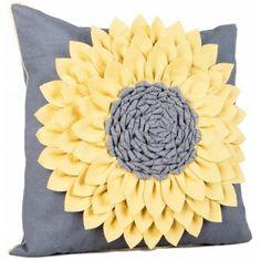Modern & Contemporary Furniture Design UK at Fusion Living Diy Pillows, Decorative Pillows, Throw Pillows, Burlap Crafts, Diy Crafts, Sewing Crafts, Sewing Projects, Felt Cushion, Yellow Cushions