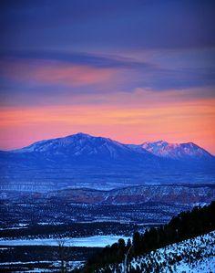 Boulder Mountain Sunset - Utah