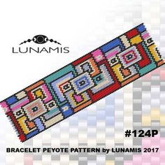 PDF FORMAT / PATTERN ONLY. Create this beautiful peyote cuff bracelet.   Bracelet peyote patterns made with size 11/0 Miyuki Delica seed beads Width: 1.75 (33 columns) Length: 6.6 Colors: 10  Patterns include: - Large colored numbered graph paper (and non-numbered in another files) - Bead legend (numbers and names of delica beads colors ) - Word chart - Pattern preview  This pattern is intended for users that have experience with odd count peyote and the pattern itself does NOT incl...