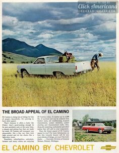 The broad appeal of the Chevrolet El Camino (1965)