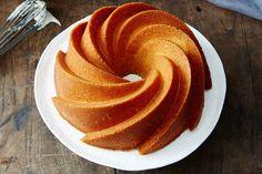 Orange Pound Cake with Bourbon Glaze Recipe