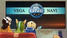Смотреть онлайн видео [ Dota2 ] VEGA vs NAVI — ESL One New York 2015 : European Qualifier — Thai Caster