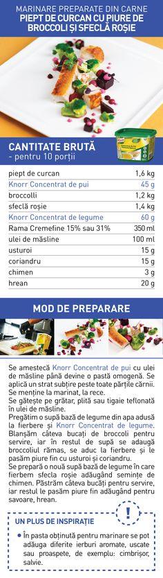 Marinare preparate din carne (I) - RETETE Broccoli, Food, Essen, Meals, Yemek, Eten