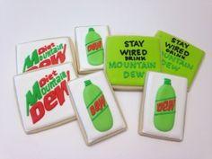 Diet Mt. Dew!  yum