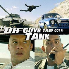 fastfuriousfam Orginal Account @fastfuriousfam_ - Furious 6 Tank Scene…