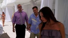 "Burn Notice 5x02 ""Bloodlines"" - Fiona Glenanne (Gabrielle Anwar), Sam Axe (Bruce Campbell) & Jesse Porter (Coby Bell)"