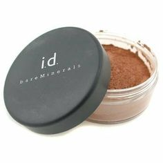i.d. BareMinerals Foundation SPF15 - Golden Deep - Bare Escentuals - Powder - Foundation SPF15 - 9g/0.3oz by Bare Escentuals. $39.78. Made of pure, crushed minerals Looks like a powder, feels like a cream & buffs on like silk Sheer & perfectly blends with skin Defenses skin against sun damage Leaves a flawless coverage with natural glow Free of preservatives, fragrance, oil, talc & dyes Not irritating to skin or causing breakouts - Bare Escentuals - Powder - Foundation SPF15