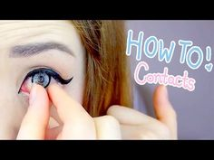 Hey everyone~ Seeing as I wear circle lenses ALL the time, I thought I'd show you guys the apparently weird way that I put them in! ^^ I hope it helps :D Don...