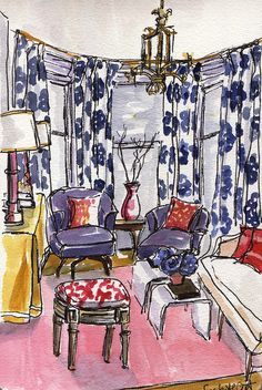 Practicing Interiors by Lisbeth C, via Flickr