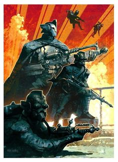 Earth Elite Forces - Greg Broadmore