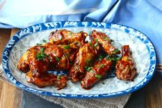 Air Fryer Sriracha-Honey Wings from Karen's Kitchen Stories