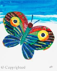 Eric Carle - large scale and hanging from atrium